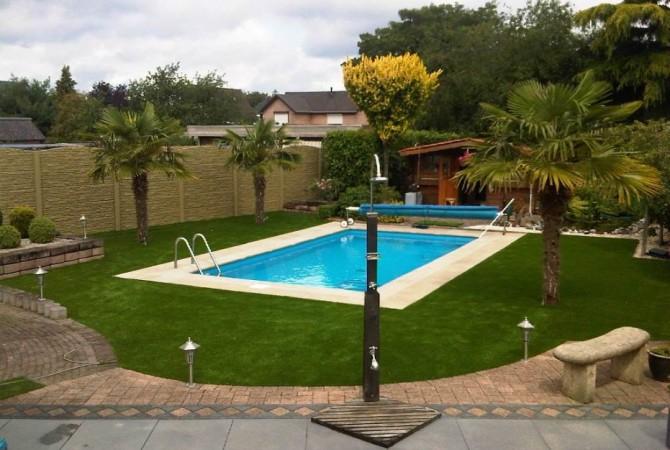 Rond zwembad for Zwembad leggen